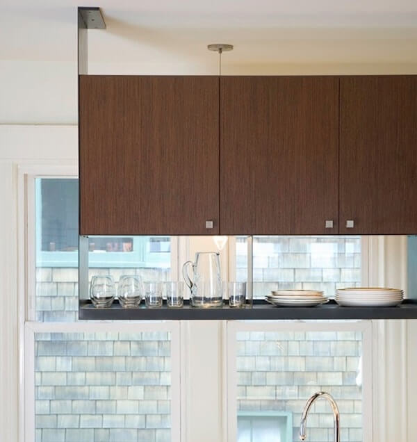 6 Simple Hanging Storage Solutions in the Kitchen - Bonito ...
